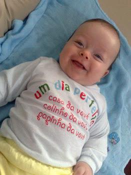 Samuel com quatro meses