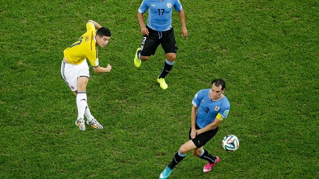 Video Gol Tercantik Piala Dunia 2014 James Rodriguez