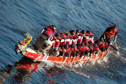 Dragon Boat Festival: The Dragon Boat Festival: The Race
