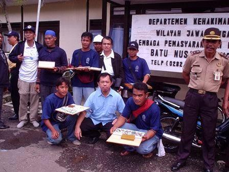 LP Batu, Nusakambangan, 2003