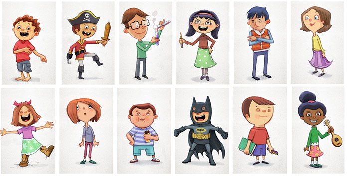 Cartoon Characters Personalities : September welcome to the views news and art of