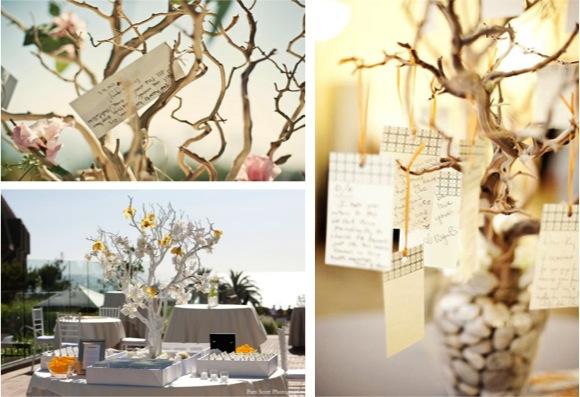 Árbol de deseos para boda