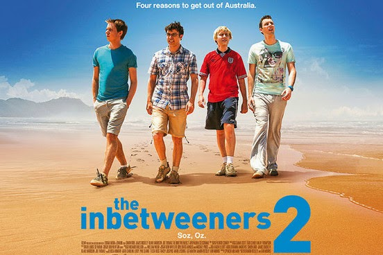 MOVIES: The Inbetweeners 2 - Four social outcasts take on Australia - Review