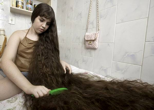 Natasha's Long Hairs