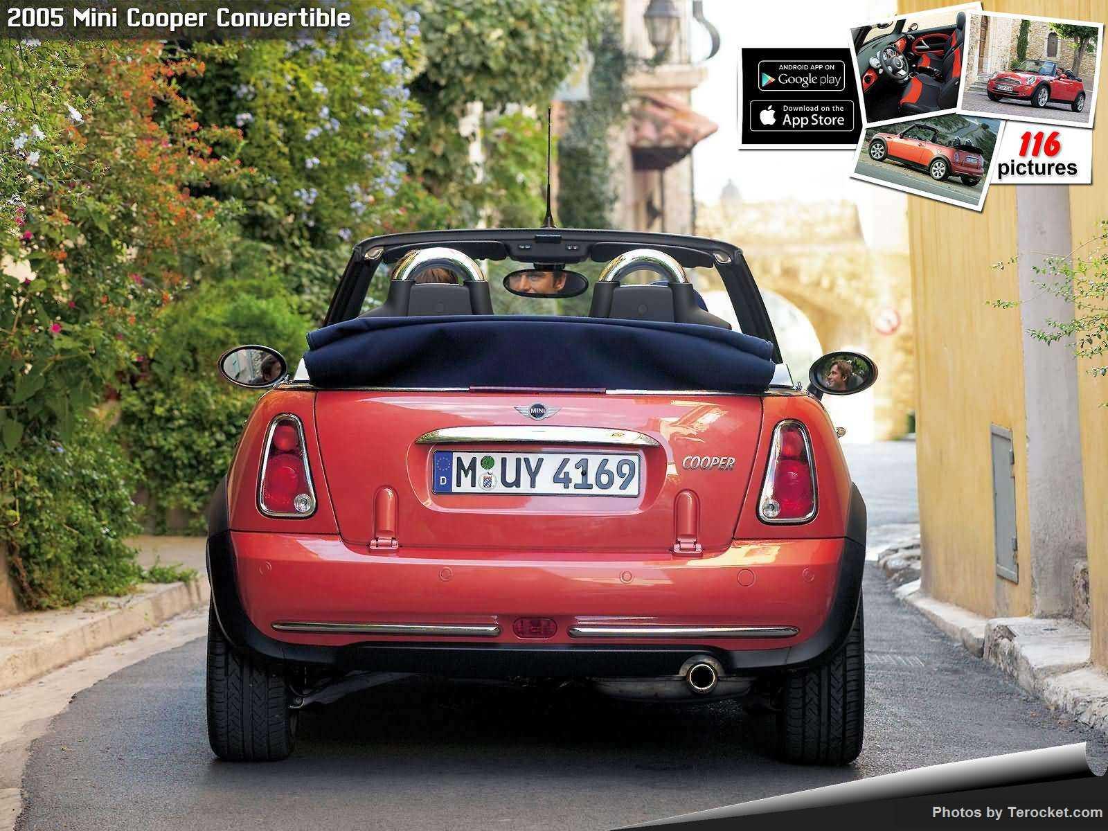Hình ảnh xe ô tô Mini Cooper Convertible 2005 & nội ngoại thất