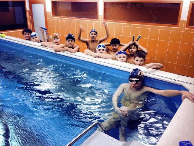 Students love the Elite Endless Pool at Tube Swim School, Almaty, Kazakhstan.