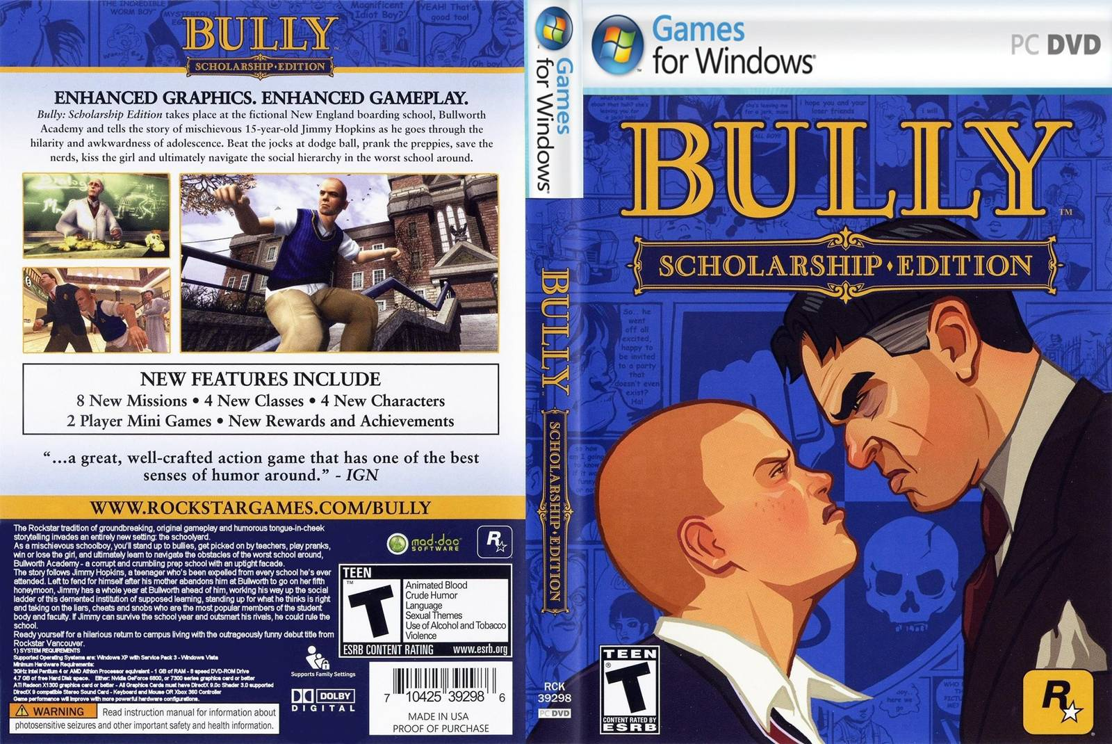 download bully scholarship edition pc Download Bully Scholarship Edition PC bully scholarship edition pc capa