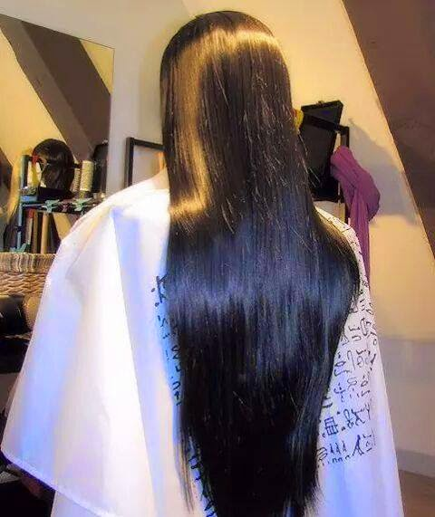 Beautiful Silky Hair