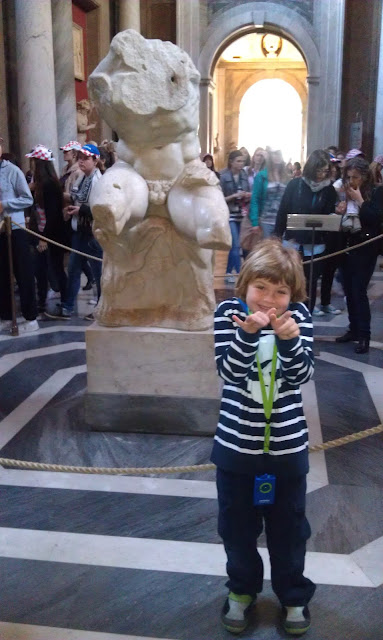 Jacob at 6 in Rome Italy
