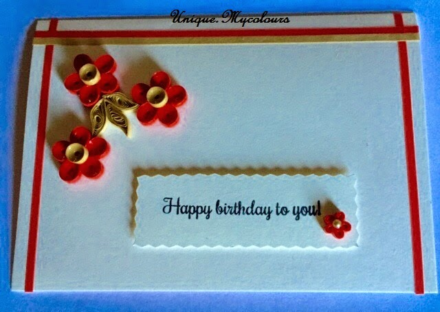 Dancing papers paper quilled simple greeting cards simple birthday cards m4hsunfo