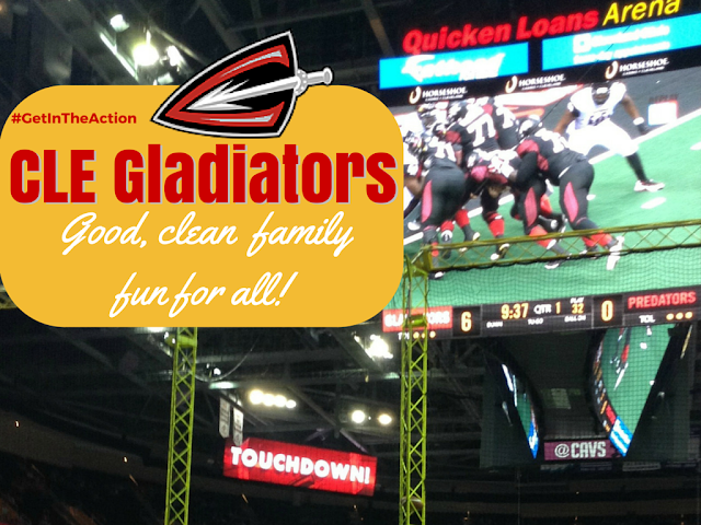 Don't Let Go - It's the Cleveland Gladiators! Win tickets to August 1 Game!