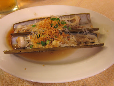 Bamboo Clams at Long Beach Singapore