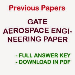 GATE Aerospace Engineering AE Previous Papers Download