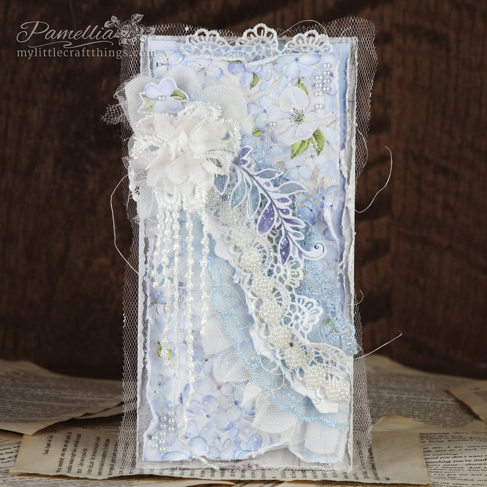 ScrapAndMe - September Challenge - Lace
