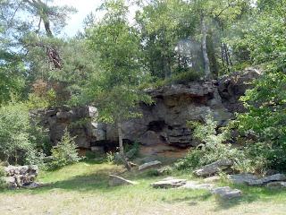 ランブイエの森 アンジェンヌの岩