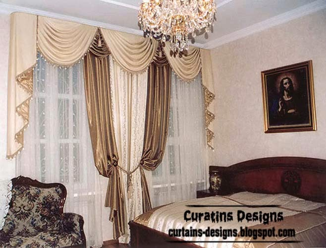 luxury bedroom curtains and drapes beige