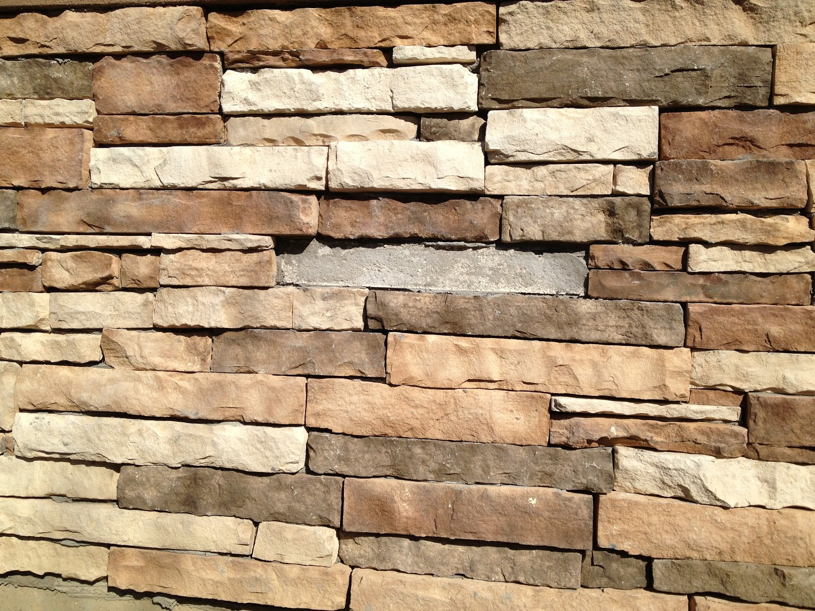 Home Depot Stacked Stone Veneer