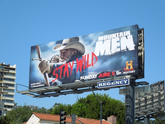 Mountain Men 2 History billboard