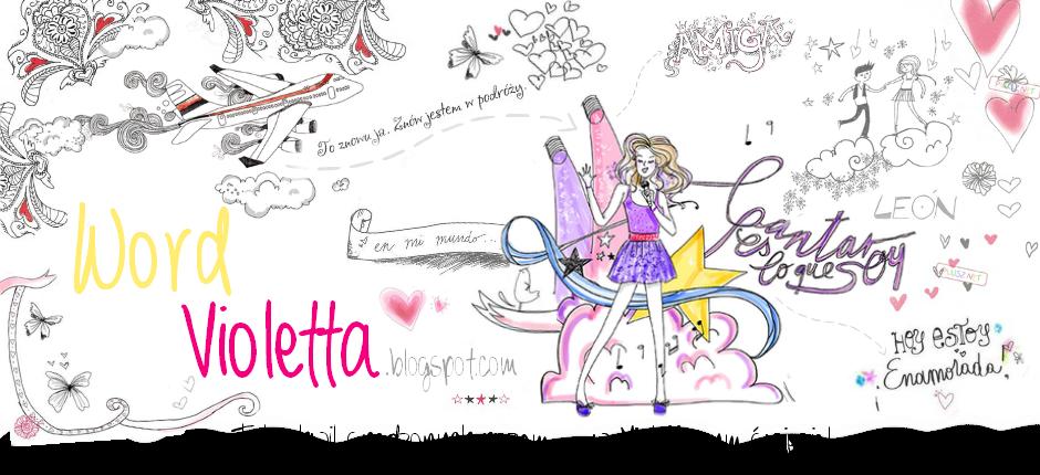 Word Violetta