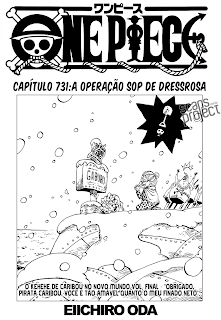 One Piece 731 português mangá leitura online capítulo