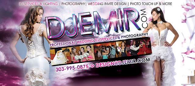 Denver wedding dj services and photography