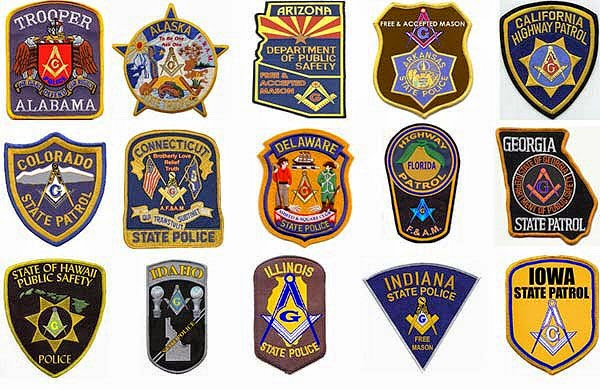 Masonic Fraternal Police Department Yes It Does Exist