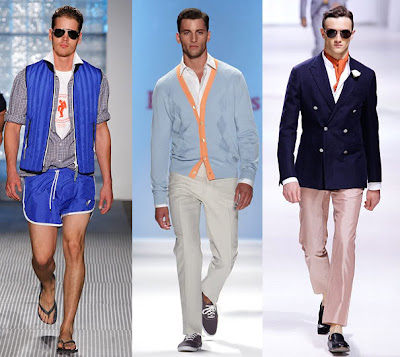 Men's shorts trends for spring and summer 2011