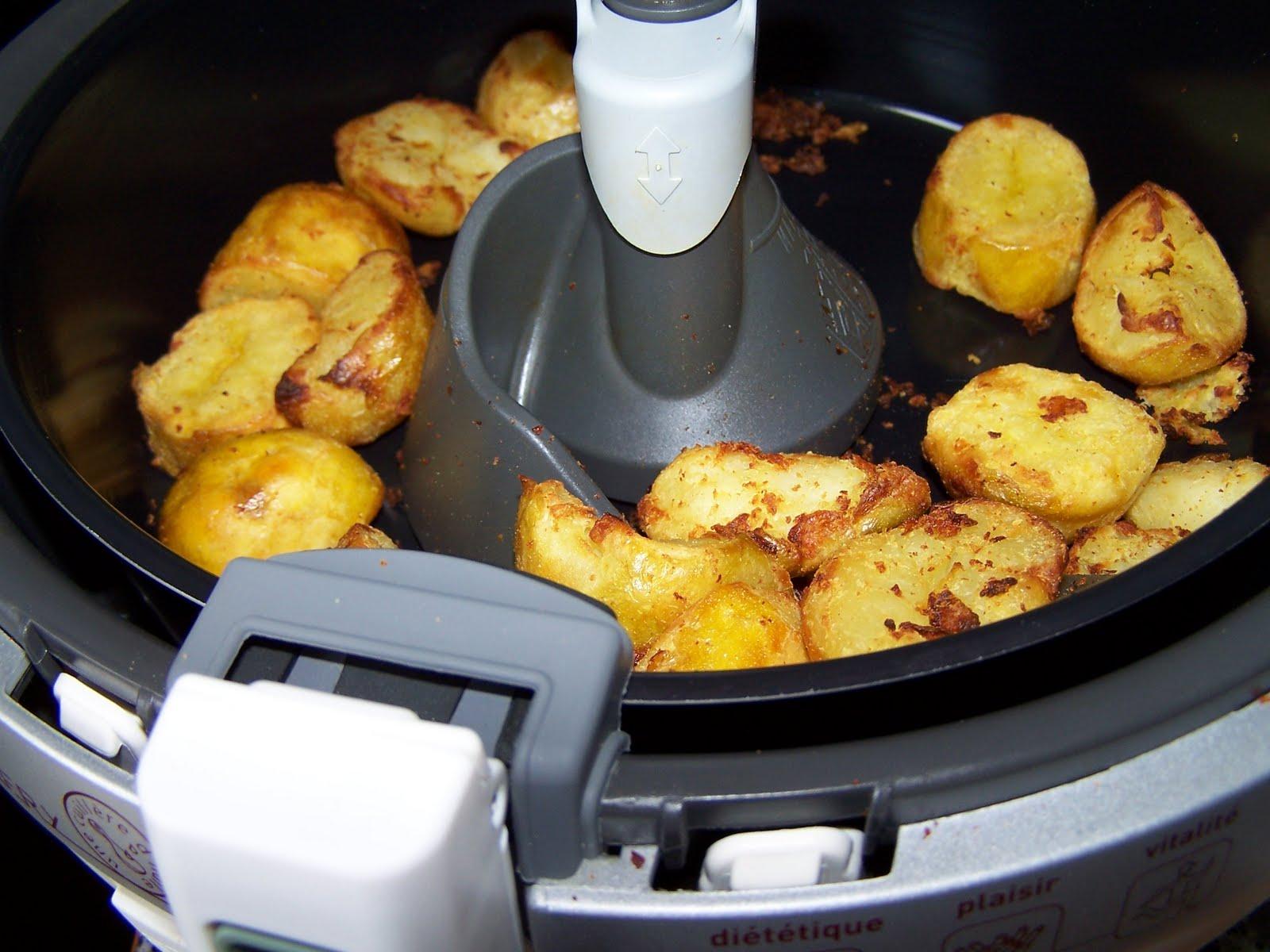 Les gourmandes astucieuses cuisine v g tarienne bio saine et gourmande faite maison pommes - Friteuse une cuillere d huile ...