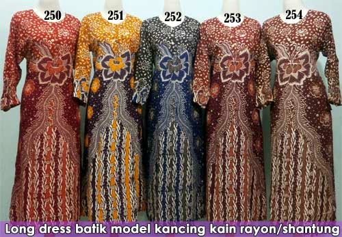 Long-dress-batik-pekalongan-murah