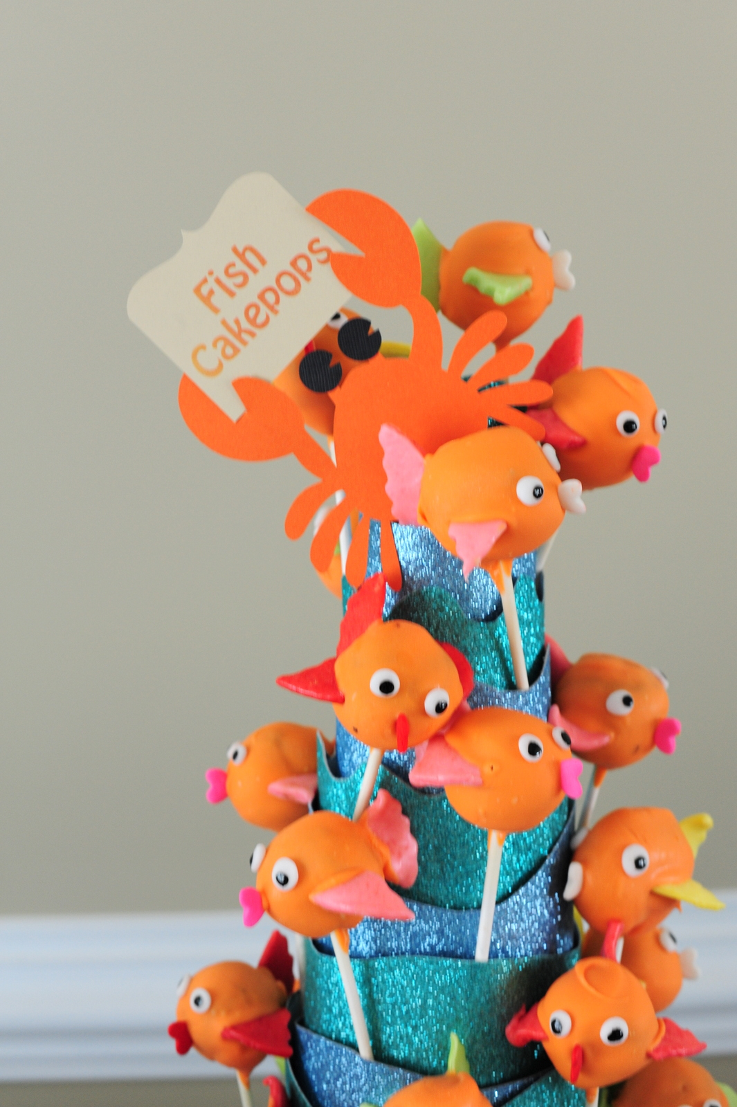 Leafy tree tops ocean themed birthday party for Fish birthday party