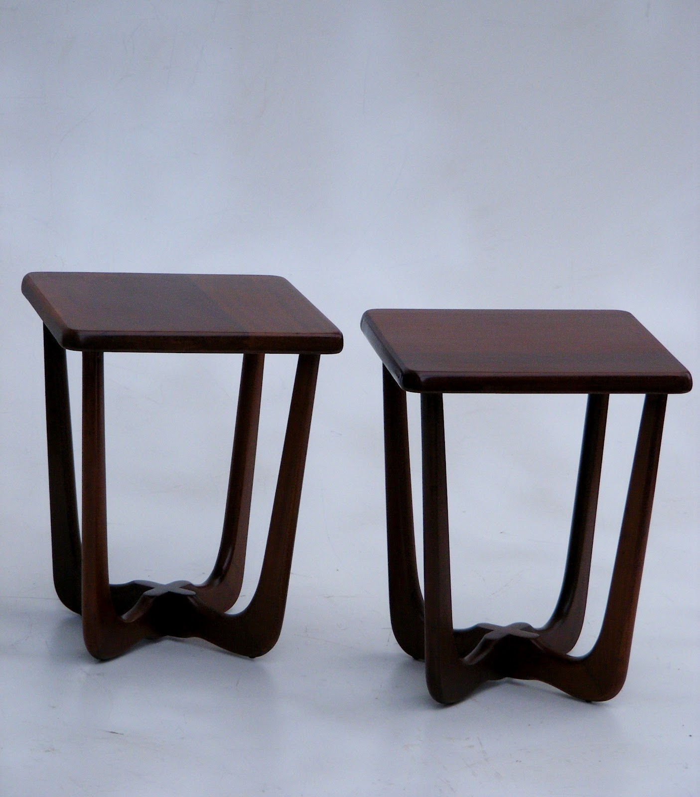 Solid Mahogany coffee table and two side table set. Coffee table 150cm x 59cm Height u2013 43cm. Sidetables 33cm x 33cm Height u2013 41cm & VAMP FURNITURE: New furniture stock this week at Vamp - 13 July 2012