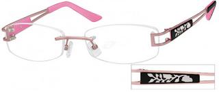 pink zenni eyeglasses