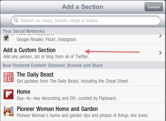 how to create a flipboard account
