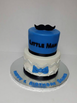 My Cake Sweet Dreams Little Man 1st Birthday Cake