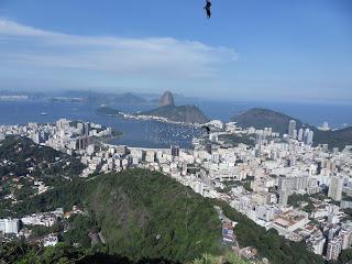 Rio de Janeiro vista do Mirante de St. Marta