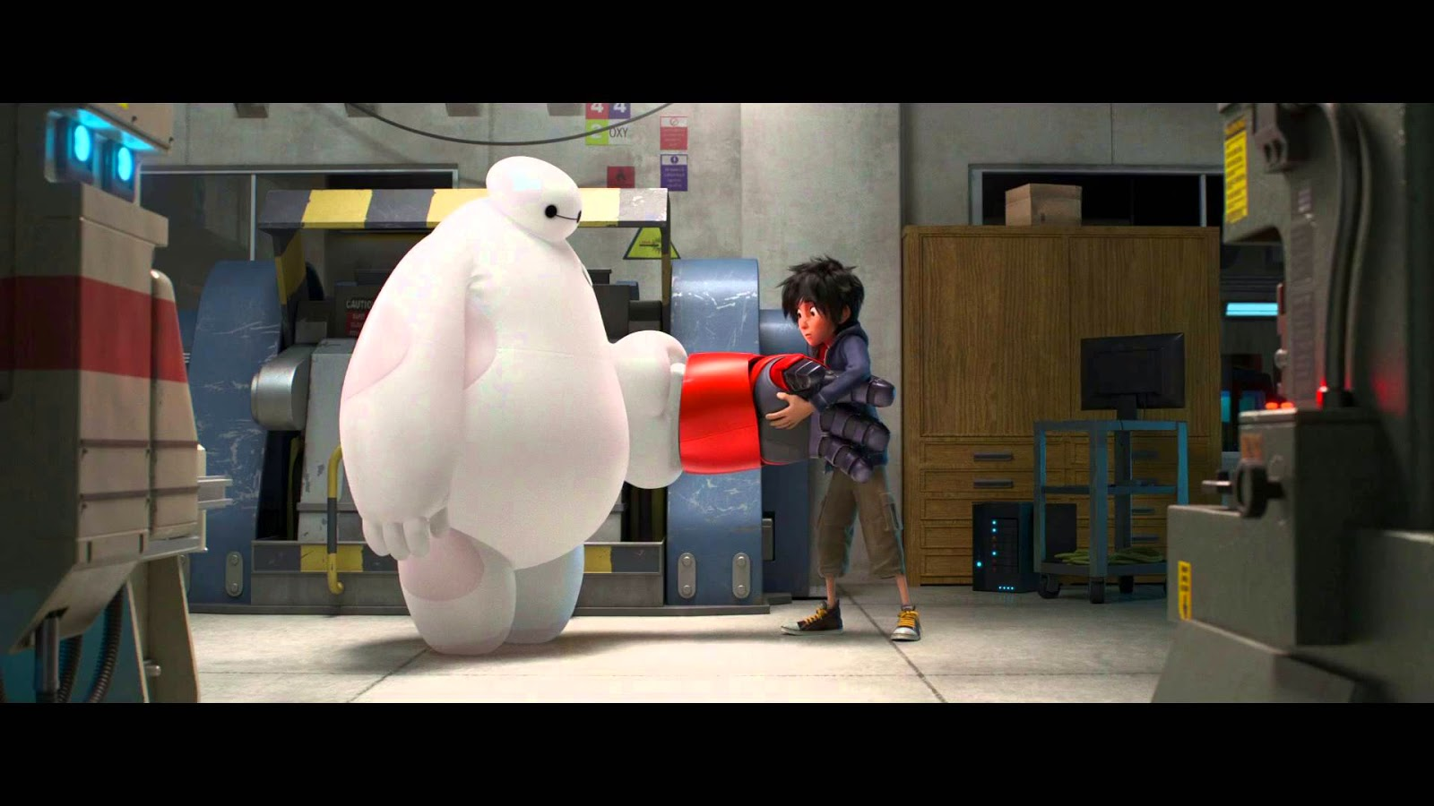 Big hero 6 film trailer