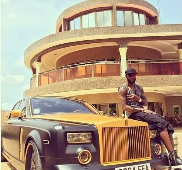 PHOTOS: The Faboulous Lifestyle OF Emmanuel Adebayor ... Emmanuel Adebayor House