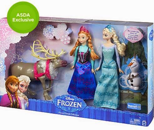 asda, frozen, Elsa, Anna