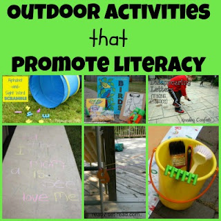 Earth Day, Outdoor Activities, Early Literacy, image