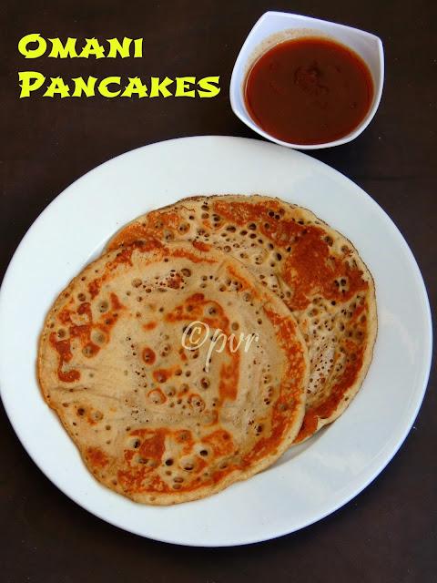 Omani pancakes