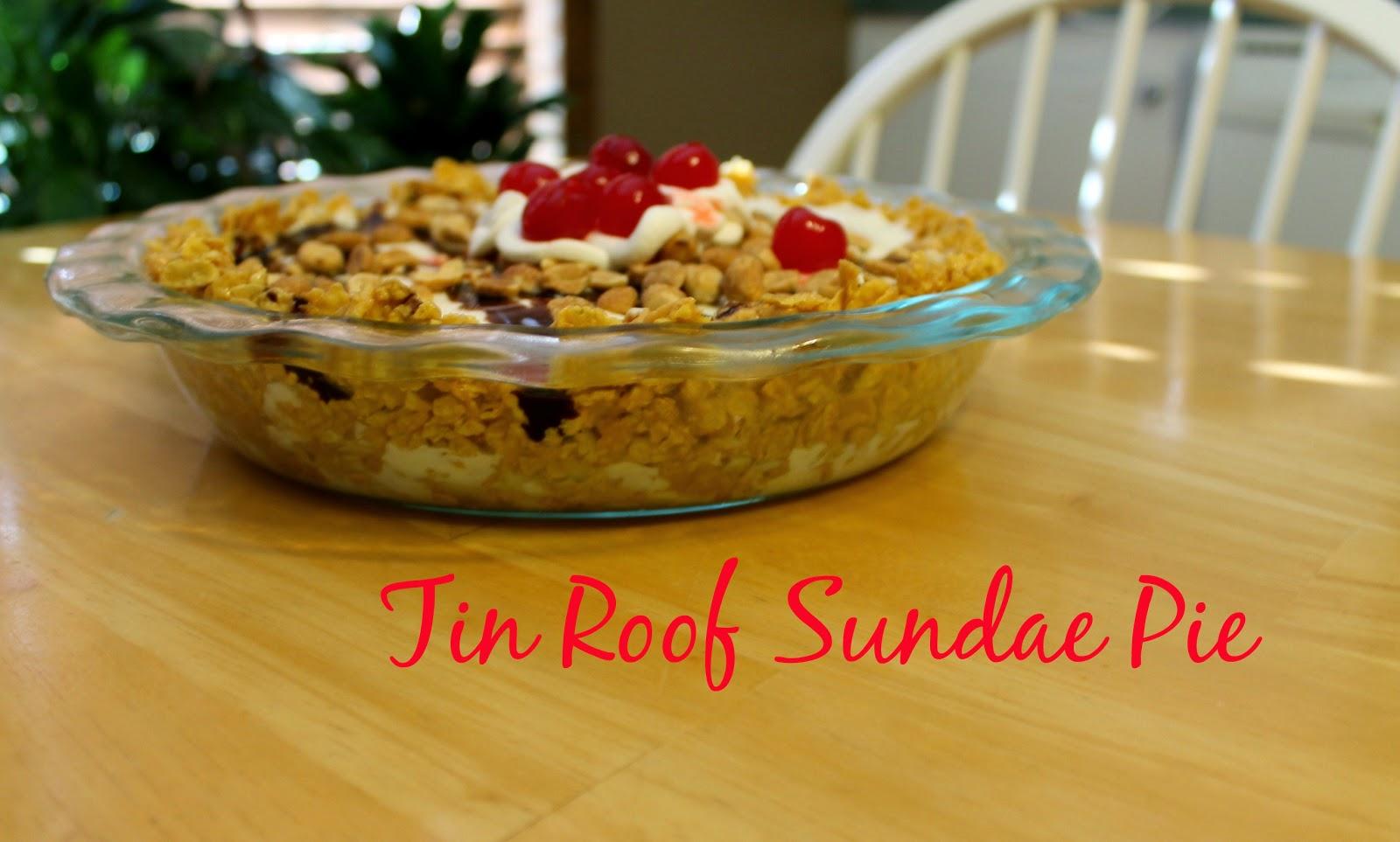 Tin Roof Sundae Pie - Week 35