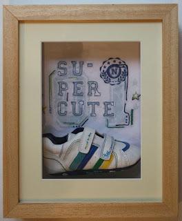 Deep shadow box frames for 3d framing keepsakes castings shoes