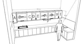 furniture semarang - desain kitchen set minimalis pintu kaca engsel hidrolis 06