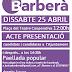 25 d'abril: Presentació de candidates i candidats de Junts per Barberà