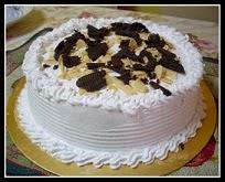 """Choc.Vanila Cheesecake @ RM70 (9"""") RM55 (7"""")"""