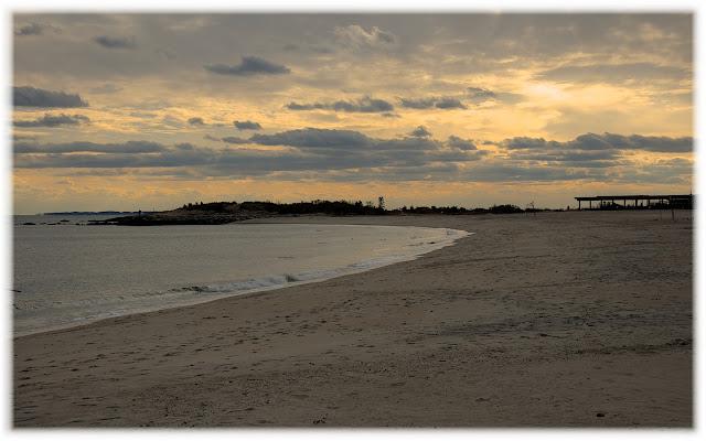 Connecticut Shoreline at Sunset