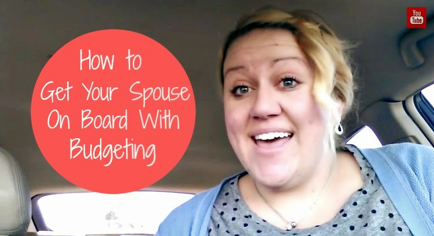 How To Get Your Spouse on Board With Budgeting...