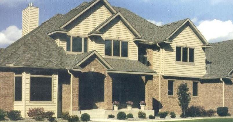 Fachadas de casas fachada combinacion materiales for Fachadas de casas estilo americano
