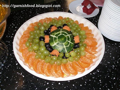 how to make turtle of watermelon