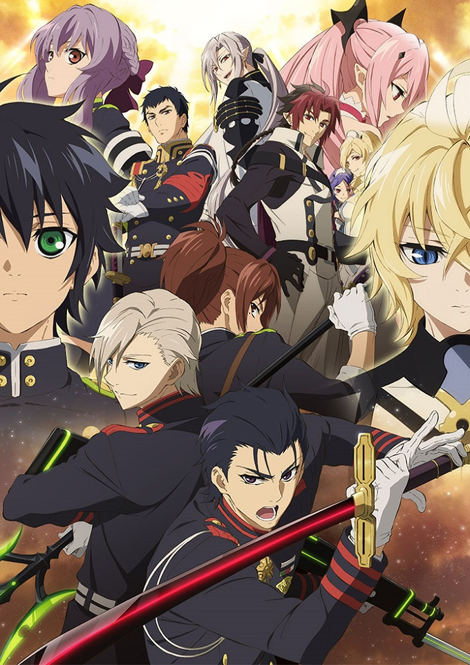 Seraph of the End segunda temporada fecha de estreno